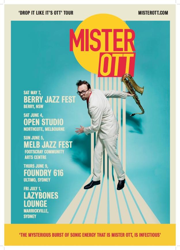 MisterOtt tour 2016